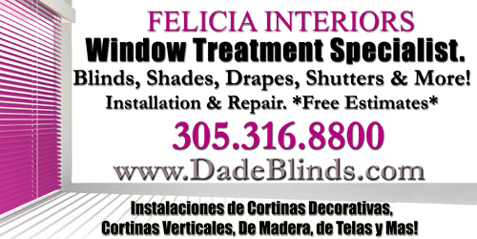 Miami Dade Window Coverings, Shades Draperies, Drapes Custom Blinds South Florida Wood Blinds Verticales, Vertical Blinds, Window Treatment Company Miami Dade