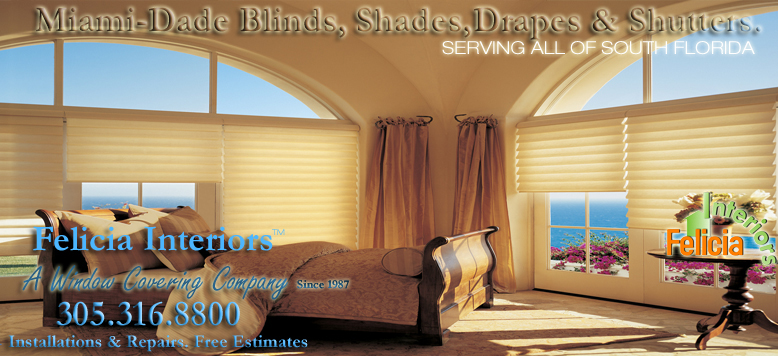 Miami Dade Blinds Shades Drapes & Shutters [Miami Blinds] [Window Treatment][Window Coverings][Miami Blinds] Shutters South Florida,[Vertical Blinds][wood blinds]